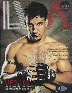 Frank Mir Signed July 2009 Las Vegas Magazine BAS Beckett COA UFC Autograph 48