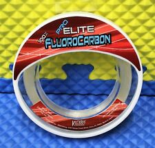 Vicious Fishing Pro Elite 100% Fluorocarbon Lo-Vis Clear Eflwl50 50Lb 110Yd