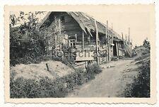 Foto russisches Bauernhaus Wehrmacht Quartiere Ostfeldzug Ukraine - Russland