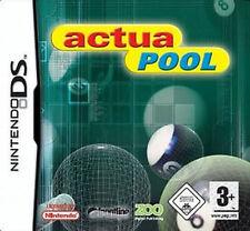 NDS Game - ACTUA POOL - NEUWERTIG // OVP