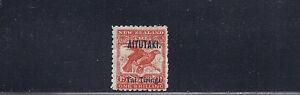 AITUTAKI 1903-11 (SG 7 one shilling) F MHR