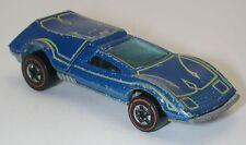 Redline Hotwheels Blue 1974 Buzz Off oc6902