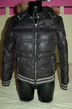 Doudoune TEDDY  noire brillante REDSKINS 36/38 Logo BRODERIES Brodé XS/1 veste