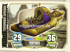 Toydarian Speeder  #077 - Force Attax Serie 3