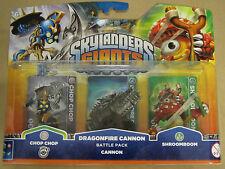 Skylanders Dragonfire Cannon - Battle Pack - Chop Chop + Cannon + Shroomboom