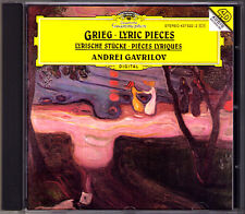 Andrei GAVRILOV GRIEG Lyric Pieces Lyrische Stücke Ballad Album Leaf CD GAWRILOW