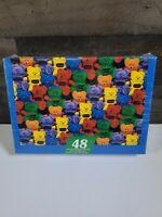 """Vintage Bears Brigade Jigsaw Puzzle 48 interlocking Pieces / Crayola /12""""x17"""""""