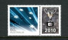 2010 Collingwood AFL Premiers 60c Southern Cross  MUH With Personalised Tab