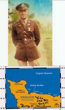 D-DAY Ranger Pointe-du-Hoc Lt. Col. G.Kerchnor DSC WWII Omaha Beach SIGNED