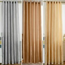 Blackout Darkening Window Curtains Panel Drapes Door Curtain for Bedroom Rooms