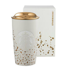 Starbucks Taiwan real Gold Siren Double Wall Mug Tumbler Traveler must have