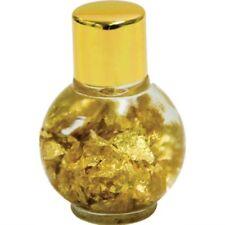 Floating Gold Leaf in a Bottle