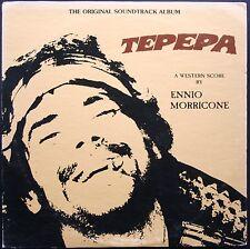 BO FILM TEPEPA ENNIO MORRICONE RARE 33T LP CERBERUS RECORDS USA