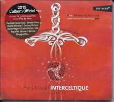 CD DIGIPACK 17T FESTIVAL INTERCELTIQUE 2015 SIMPLE MINDS/DENEZ PRIGENT/Z.RICHARD
