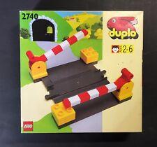 RARE VTG LEGO DUPLO 2740 – LEVEL CROSSING, NEW MISB, SEALED, DENMARK, 1993.