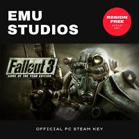 Fallout 3 GOTY (PC) Steam Key Region Free