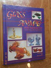 Glass Animals of the Depression Era, ID & Values, 1993 Hardcover