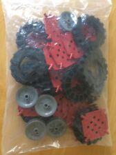 K 'nex-paquete de diversas piezas incluso ruedas-nuevo y embolsado