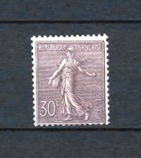 "FRANCE  STAMP TIMBRE 133a "" SEMEUSE LIGNEE 30c VIOLET FONCE "" NEUF xx TTB  R427"