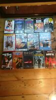 Joblot bundle VHS tapes 14x - BIG BOX EX RENTALS  - VHS - various movies