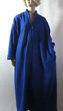 Plus Size Dressing Gown Zip Front Anti-Pill Polar Fleece s.30/32 Australian Made