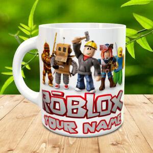 Roblox Personalised Name Mug Cup Gift Kids Birthday Present Xmas New