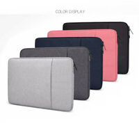 Laptop Case Sleeve Bag Carry Case 2 Pockets For Apple MacBook Air Pro 13 15 Inch
