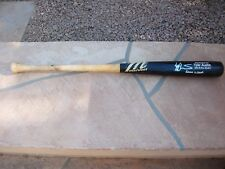 TYLER AUSTIN SIGNED GAME USED MARUCCI BAT NEW YORK YANKEES
