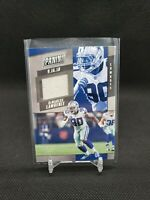 2019 Panini Prestige DeMarcus Lawrence Game Used Patch Dallas Cowboys