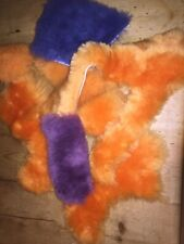 Genuine Sheepskin Pieces Offcuts arts,crafts collage  small pieces Colourful