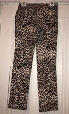 Gymboree Girls Leopard Print Pull On Pants Sz 8 Nwt Stretchy