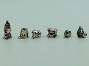 6 Pretty Charm Bracelet Style Charms No 9