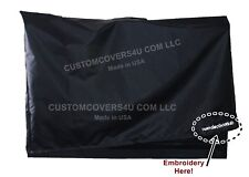 """42"""" Flat Screen TV TELEVISION WATER REPELLENT DUST COVER + EMBROIDERY !"""