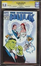 Incredible Hulk # 418 CGC 9.8 White SS (Marvel 1994) Collectors Ed, Stan Lee Sig