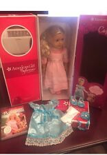 *NRFB* AMERICAN GIRL~CAROLINE ABBOTT ~ INCLUDES EXTRA OUTFIT & BOOK~