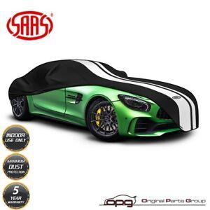 SAAS Indoor Sports Garage Car Cover Non Scratch for MClaren 650S Spider Black