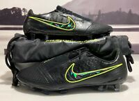 Nike Phantom Venom Elite FG Black Volt ACC Soccer Cleats AO7540-007 Men's Sz 4.5