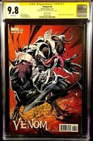 MARVEL Comic VENOM 3 CGC SS 9.8 Campbell 1:100 Virgin Variant SPIDER-MAN CARNAGE
