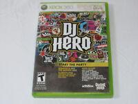 DJ Hero Microsoft Xbox 360, 2009 Xbox Live Start the Party video game T-Teen