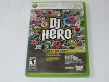 DJ Hero Microsoft Xbox 360, 2009 Xbox Live Start the Party video game T-Teen