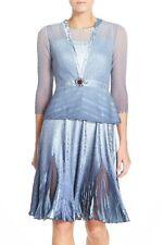 NWT KOMAROV Embellished Neck Tulip Hem A-Line Dress with Jacket [SZ XL] #M949