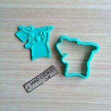 Pokemon - Pikachu cookie cutter fondant mold 3d printed cookiecutter