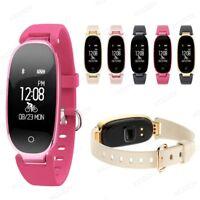 Smartwatch Armband Pulsuhr Schrittzähler Sport Fitness Tracker Bluetooth IP67