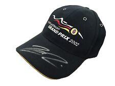 Kimi Raikkonen Autograph Hat, 2002 Australian Grand Prix, Signed, Auto,