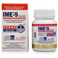 IME-9 HERBAL TABLETS BLOOD GLUCOSE METABOLISM AYURVEDIC 60 TABS