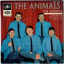 THE ANIMALS I'm crying She said yeah 1965 French EP R&B 60s Beat Mod dancer