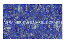 5'x3' Marble Center Side Table Top Lapis Lazuli Inlay Restaurant Decor H4970A