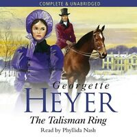 The Talisman Ring: by Georgette Heyer- Unabridged Audiobook - 8CDs