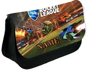 ROCKET LEAGUE   #1 Personalised Pencil Case, make up bag, school any name