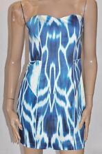PORTMANS Designer Blue Sweetheart Bandeau Bodycon Dress Size 10/S BNWT #SZ74
